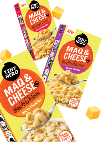 MaQ & Cheese Product Lineup